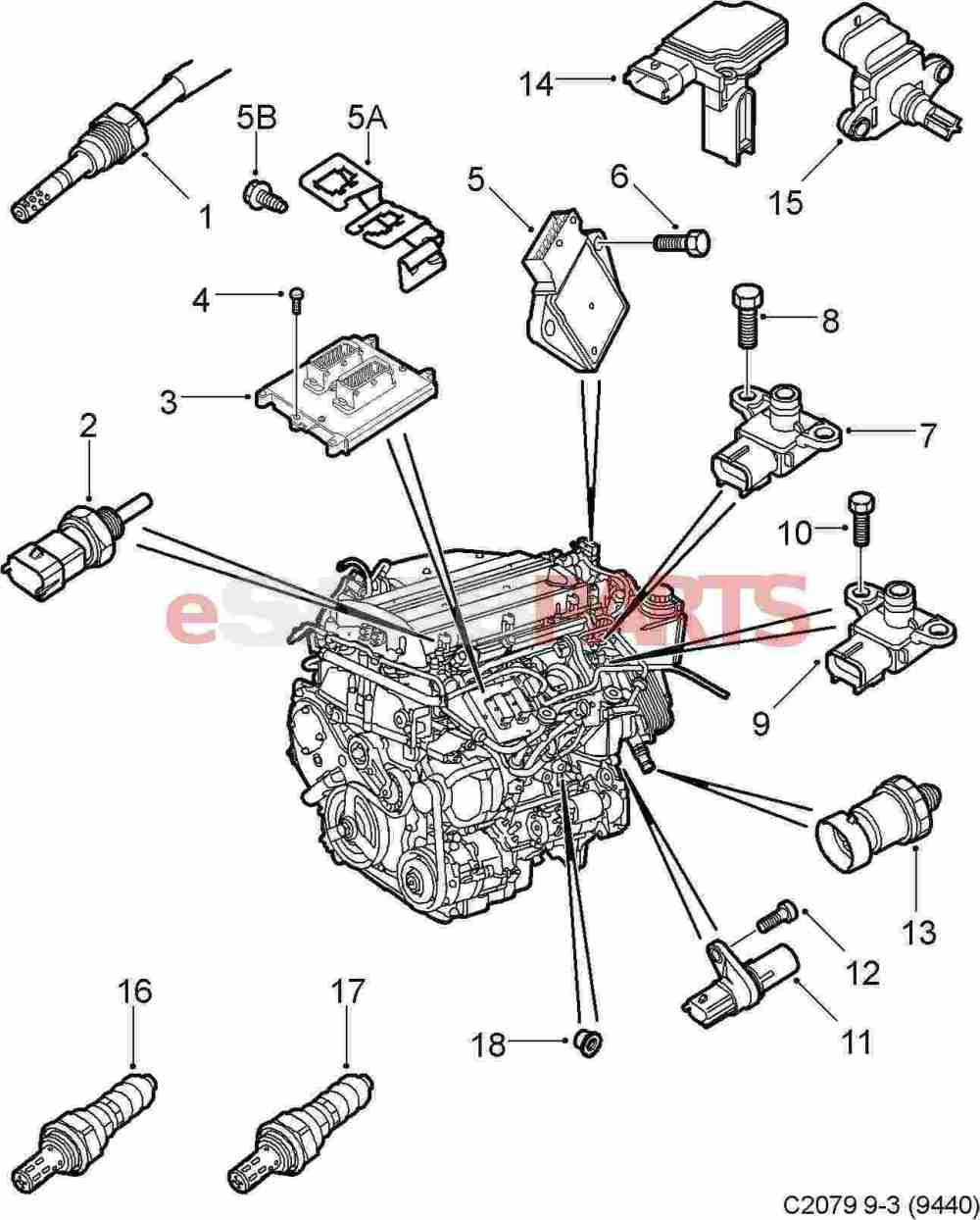 medium resolution of 2003 saab 9 5 engine diagram wiring library rh 14 muehlwald de saab 9 3