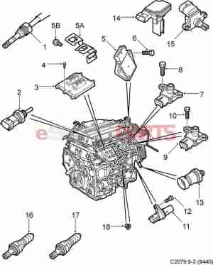 [55352173] SAAB Ionization Module (20052011)  Genuine