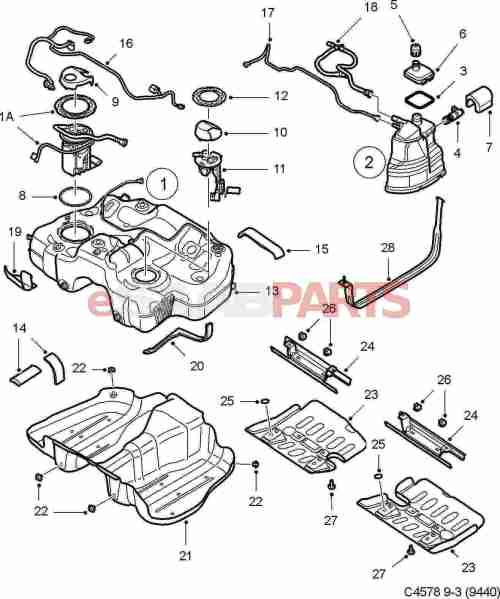 small resolution of esaabparts com saab 9 3 9440 u003e engine parts u003e fuel tank u003e fuel saab 900 fuel pump wiring diagram saab fuel pump diagram