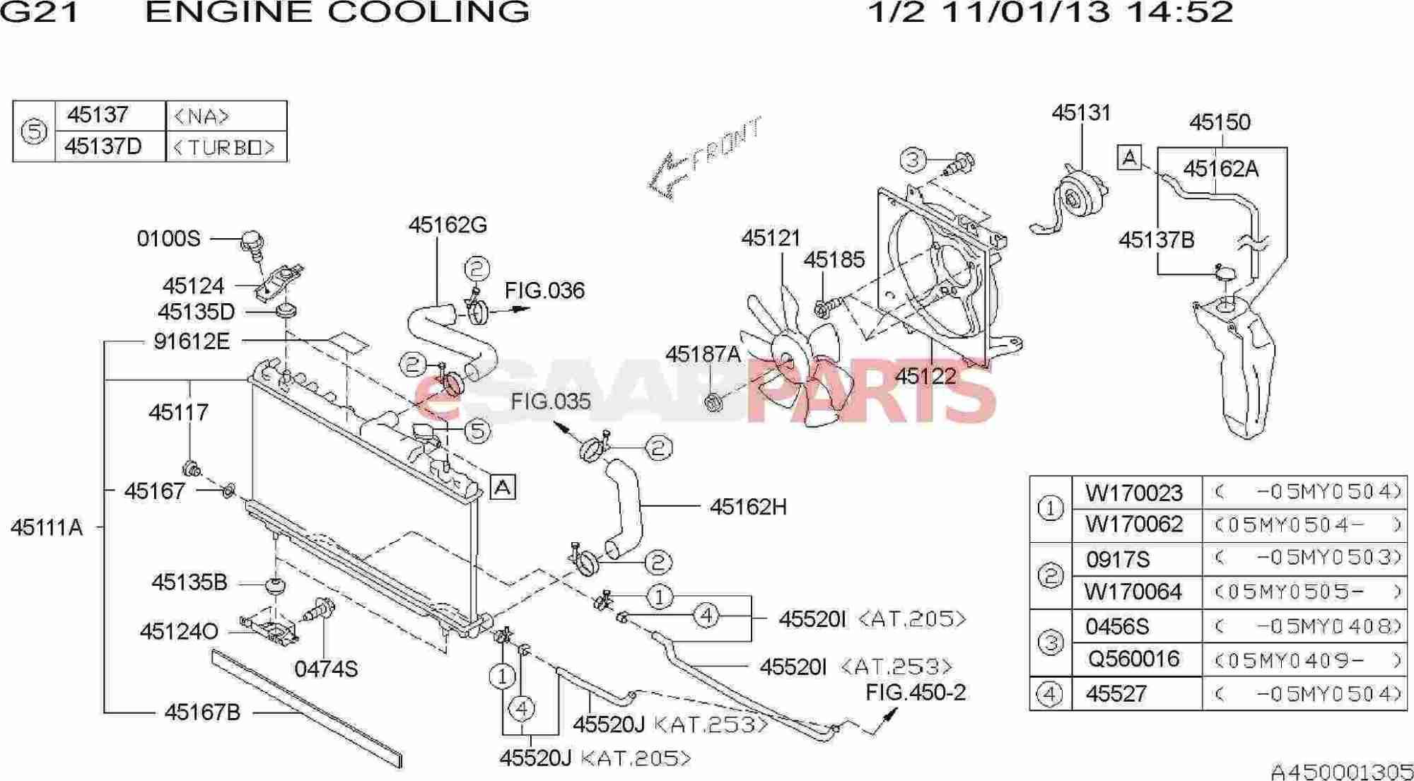 hight resolution of saab engine cooling diagram wiring diagram blogesaabparts com saab 9 2x u003e engine parts