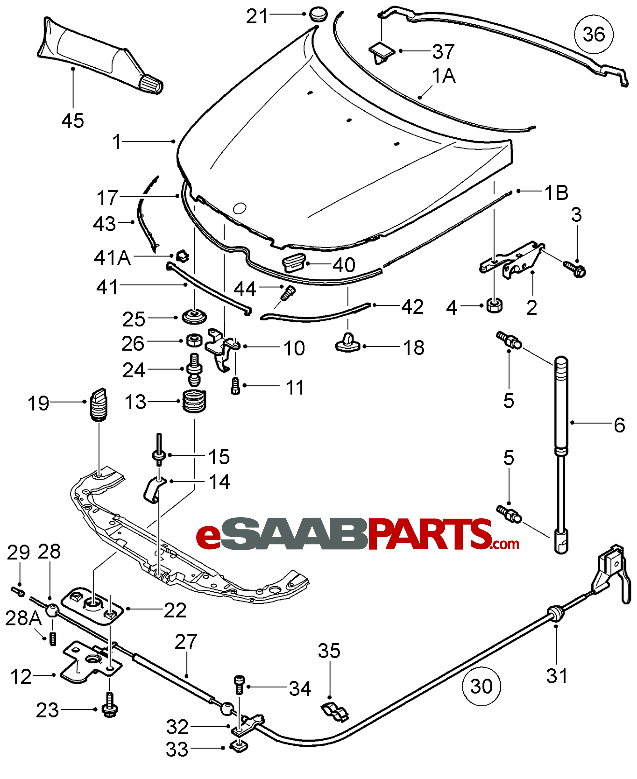 1996 Saab 900s Parts Diagram. Saab. Auto Wiring Diagram