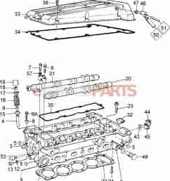 8822041 saab valve cover gasket kit genuine saab parts from egr valve 150 scooters valve cover diagram [ 1388 x 1860 Pixel ]