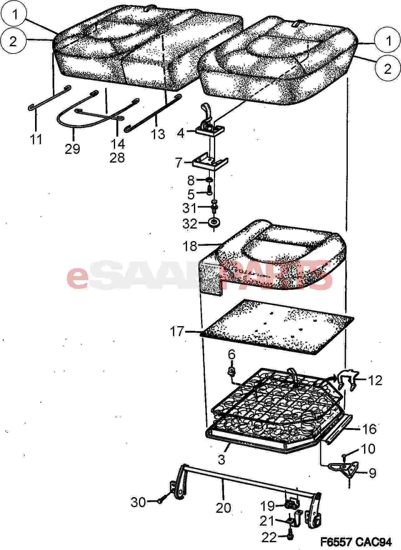 Saab Link Arm