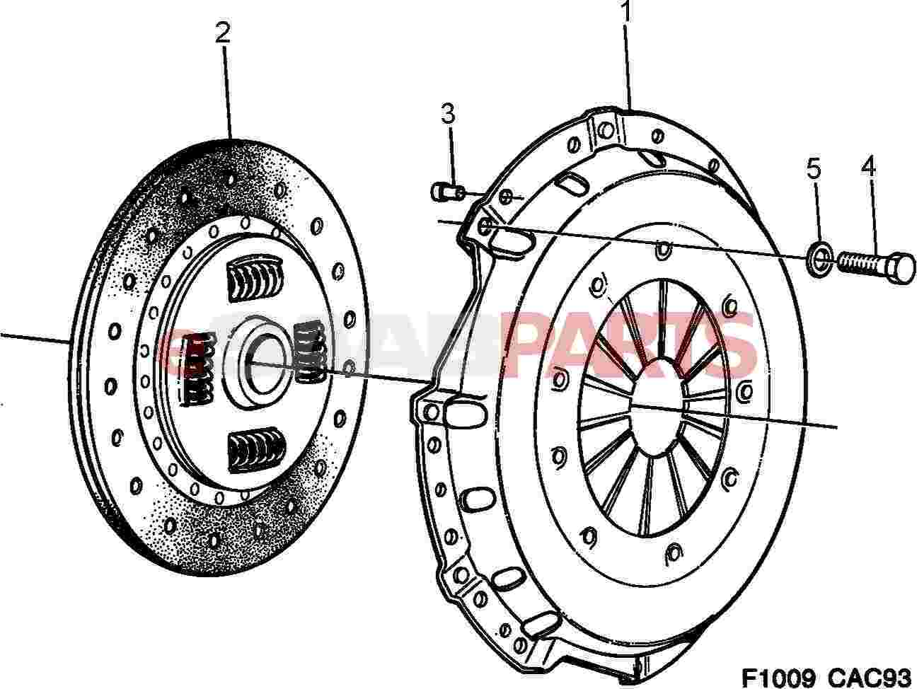Saab Clutch Disc