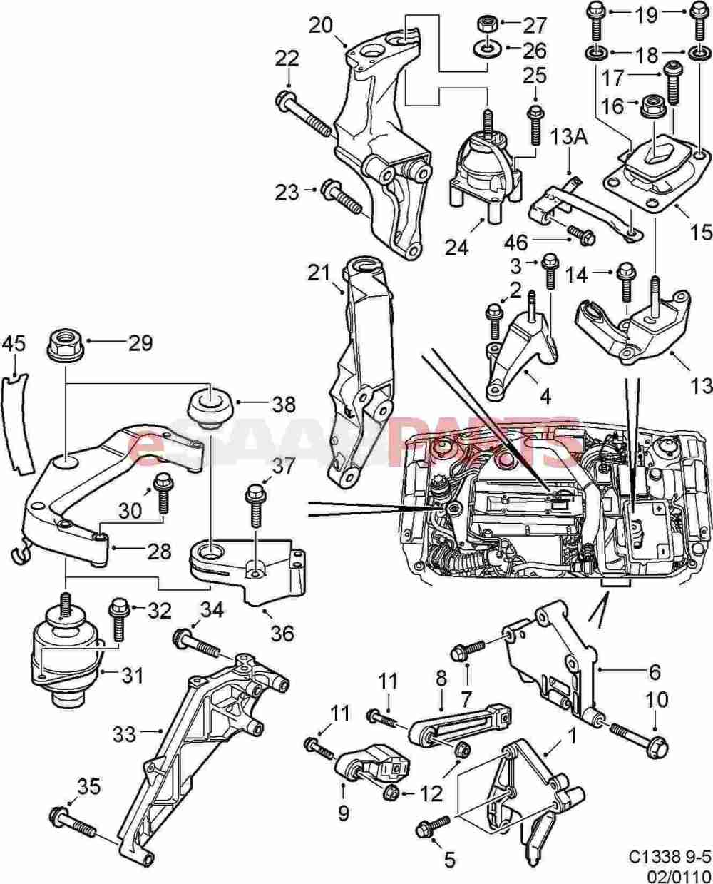 medium resolution of saab 9 5 engine diagram schematic wiring diagrams u2022 rh arcomics co saab 9 5 3 0