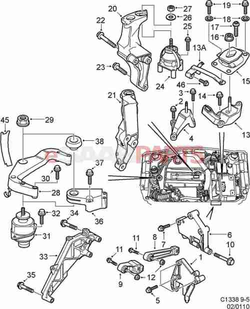 small resolution of saab 9 5 engine diagram schematic wiring diagrams u2022 rh arcomics co saab 9 5 3 0