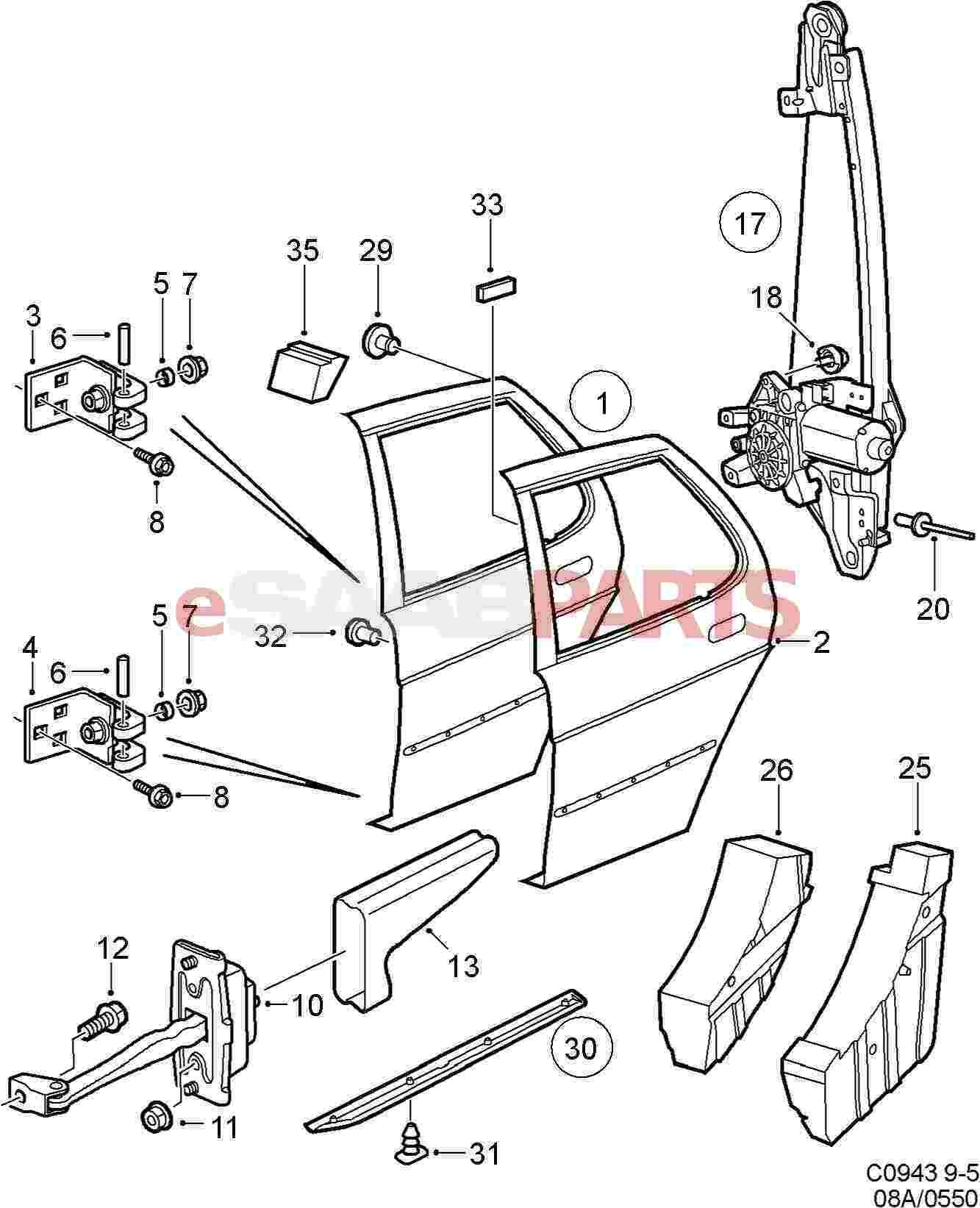 car door lock parts diagram pontiac vibe stereo wiring house mechanism imageresizertool com