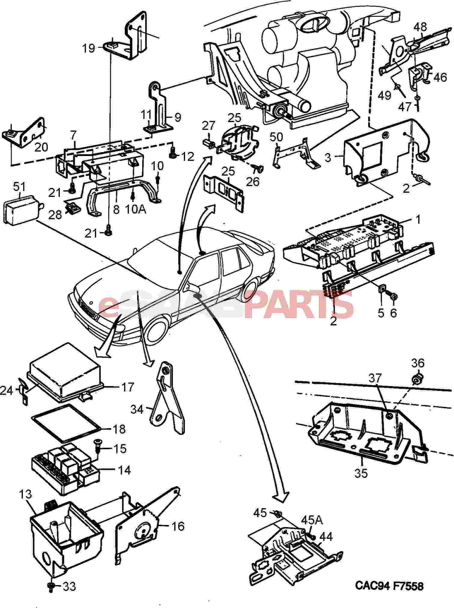 1994 Saab 9000 Wiring Diagrams Saab 9-3 Engine Diagram
