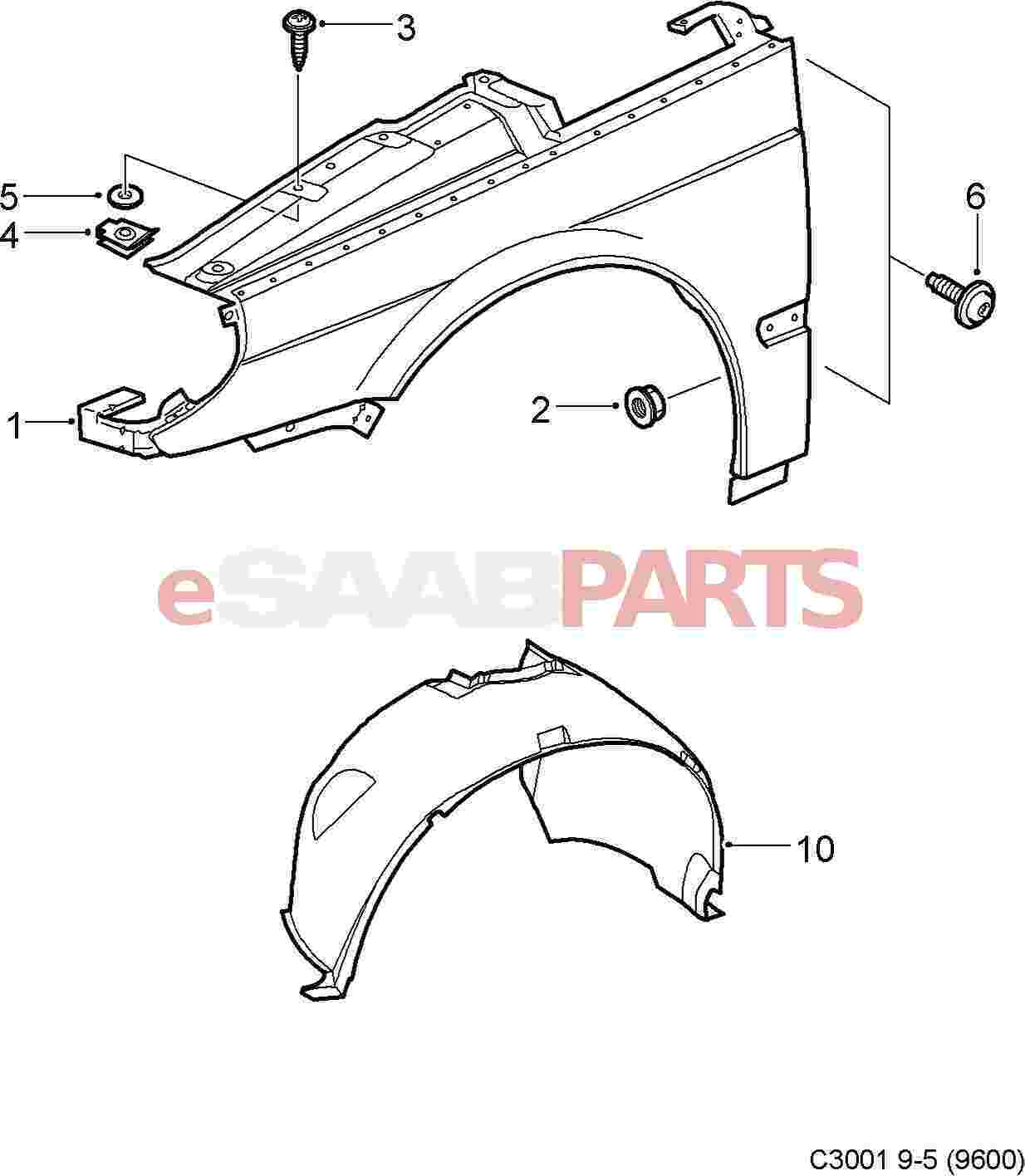 hight resolution of  front fender