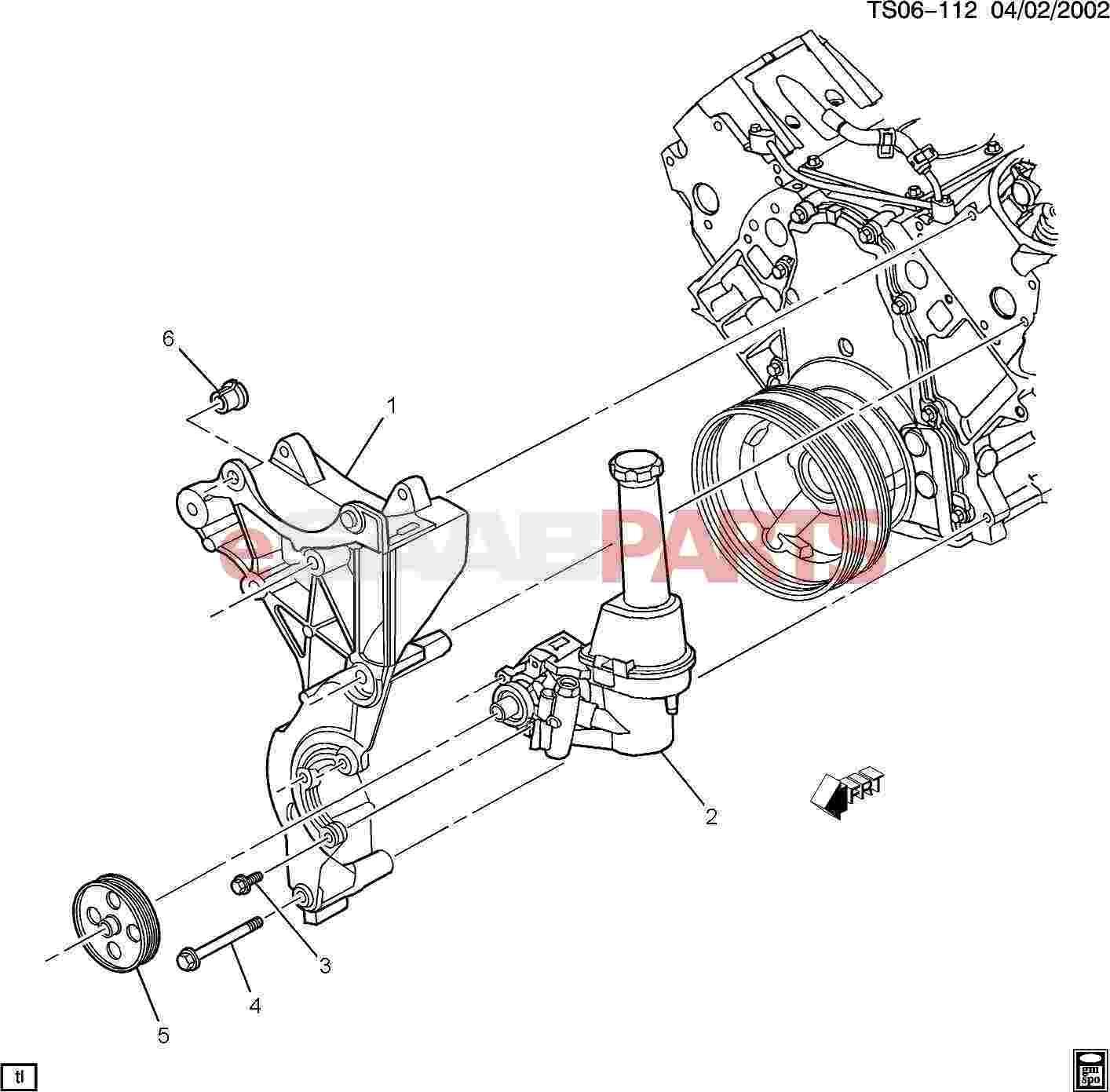 Saab Pulley Power Steering Pump