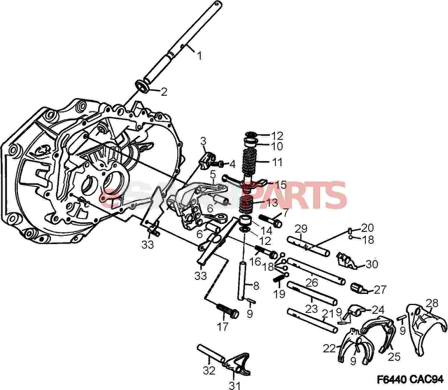 Service manual [1998 Saab 9000 Manual Transmission Hub