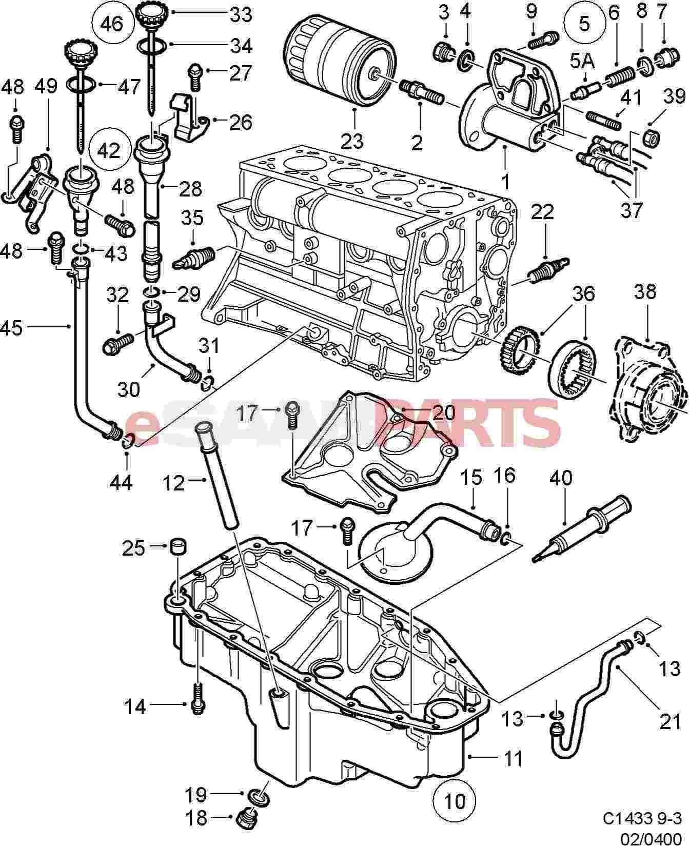 hight resolution of saab 2000 9 5 engine diagram oil wiring diagram completed 2005 saab 9 5 engine