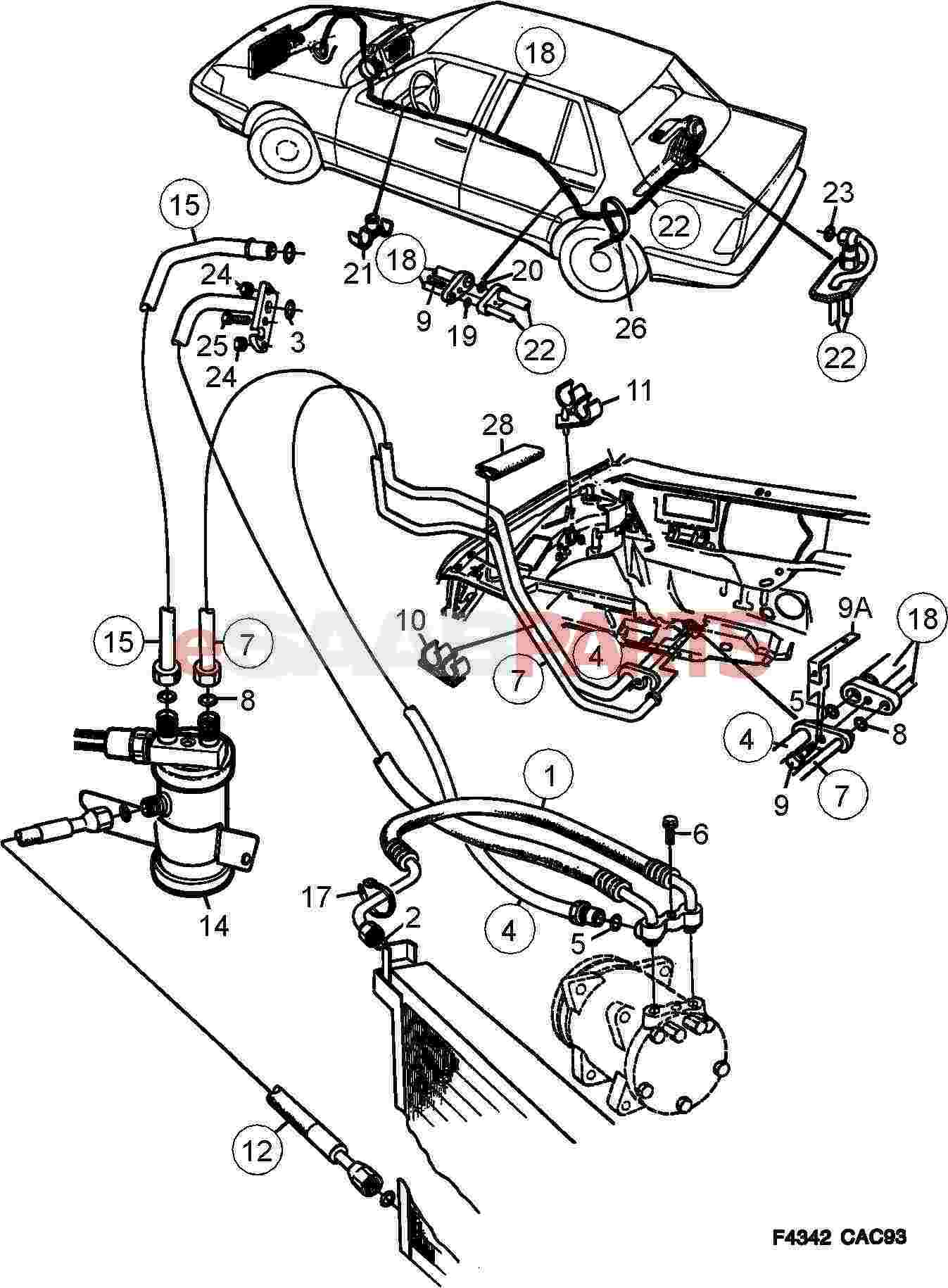 [DIAGRAM] Wiring Diagram For Saab 9000 FULL Version HD