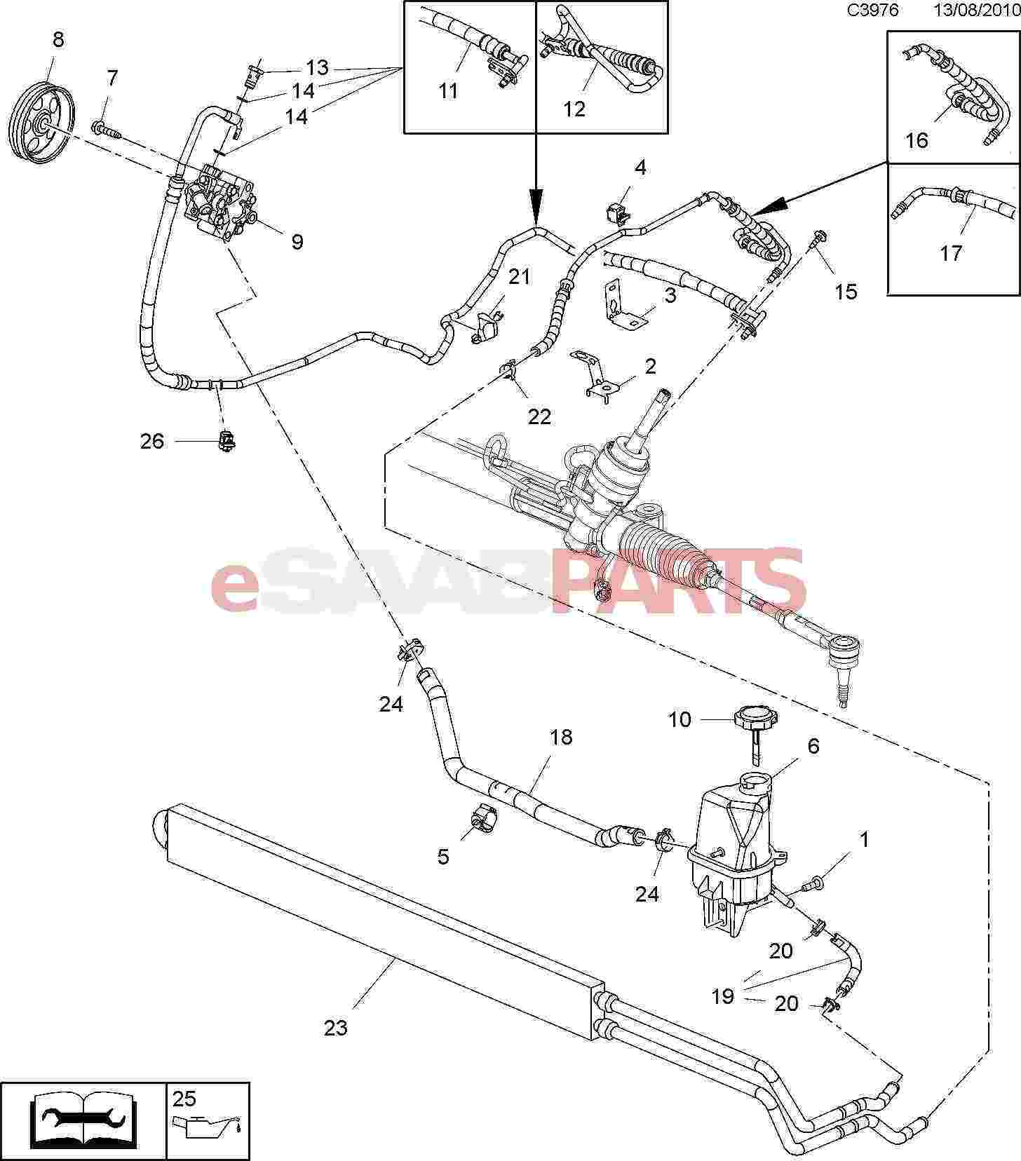[93165414] SAAB Hydraulic/Transmission Oil (1L 6T70 Dexron