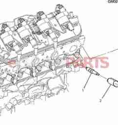 esaabparts com saab 9 7x electrical parts ignition components spark plug wiring 5 3m  [ 1464 x 1063 Pixel ]