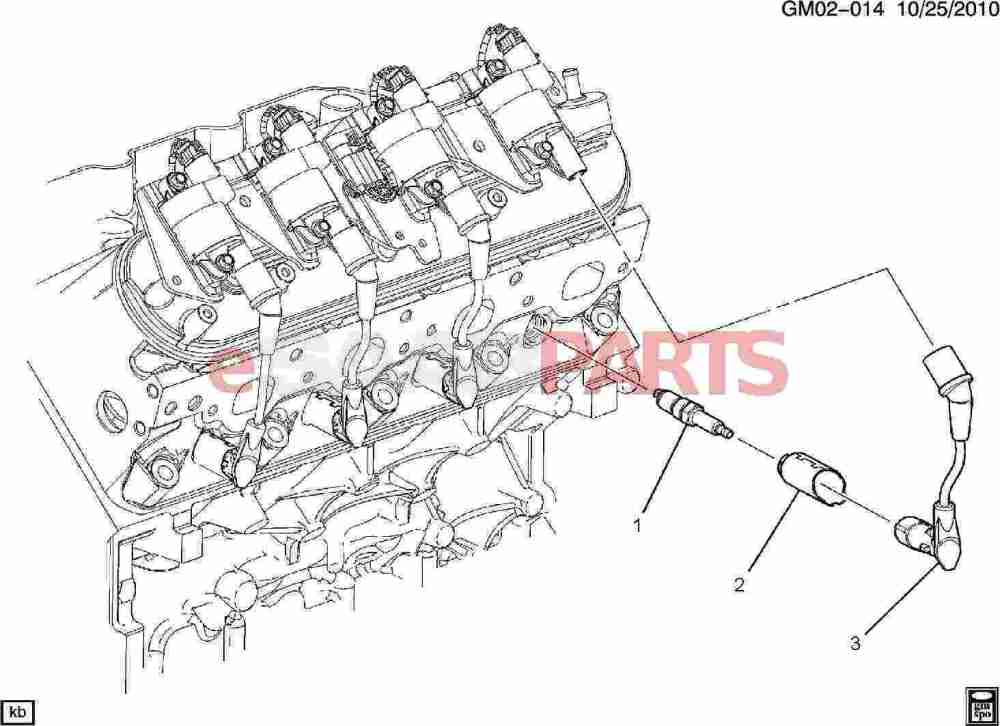medium resolution of esaabparts com saab 9 7x electrical parts ignition components spark plug wiring 5 3m
