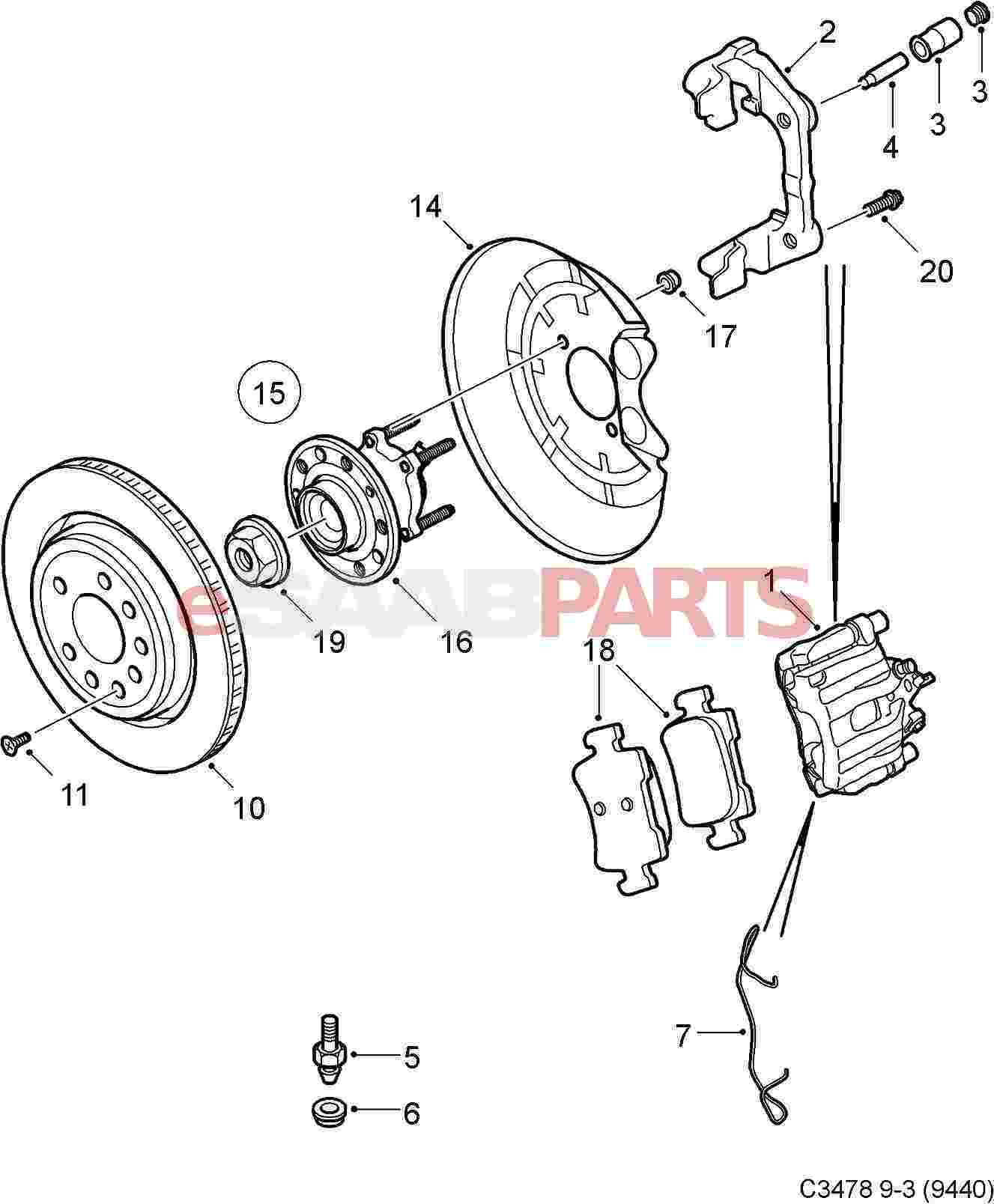 2008 Saab 9 3 Parts Diagram. Saab. Auto Parts Catalog And