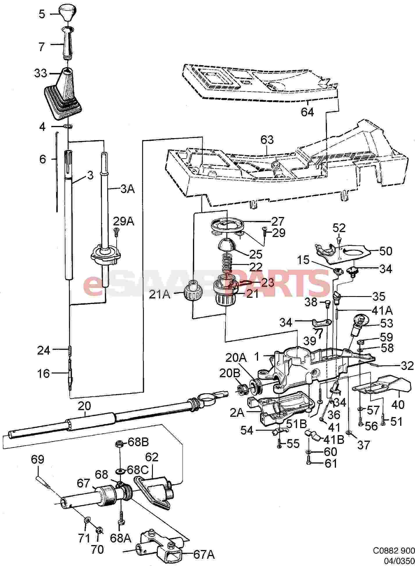 Service manual [Exploded View 1986 Saab 900 Manual