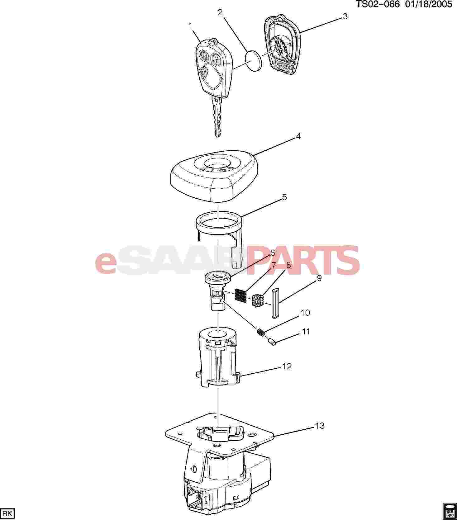 hight resolution of esaabparts com saab 9 7x u003e electrical parts u003e ignition componentsesaabparts com saab 9