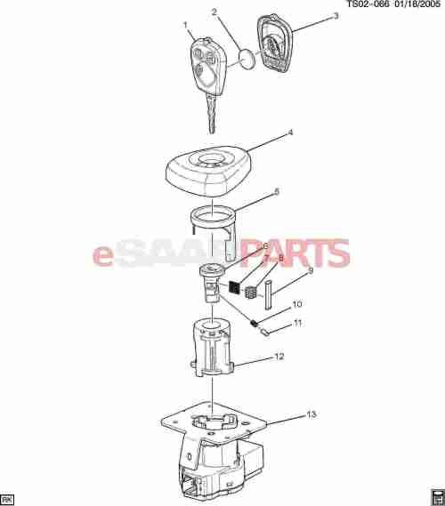 small resolution of esaabparts com saab 9 7x u003e electrical parts u003e ignition componentsesaabparts com saab 9