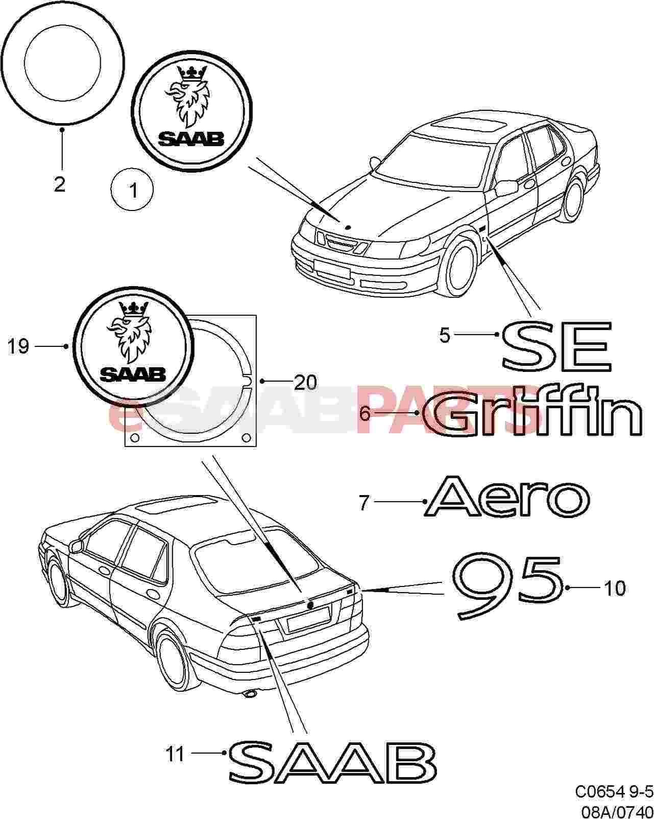 Saab Saab Emblem