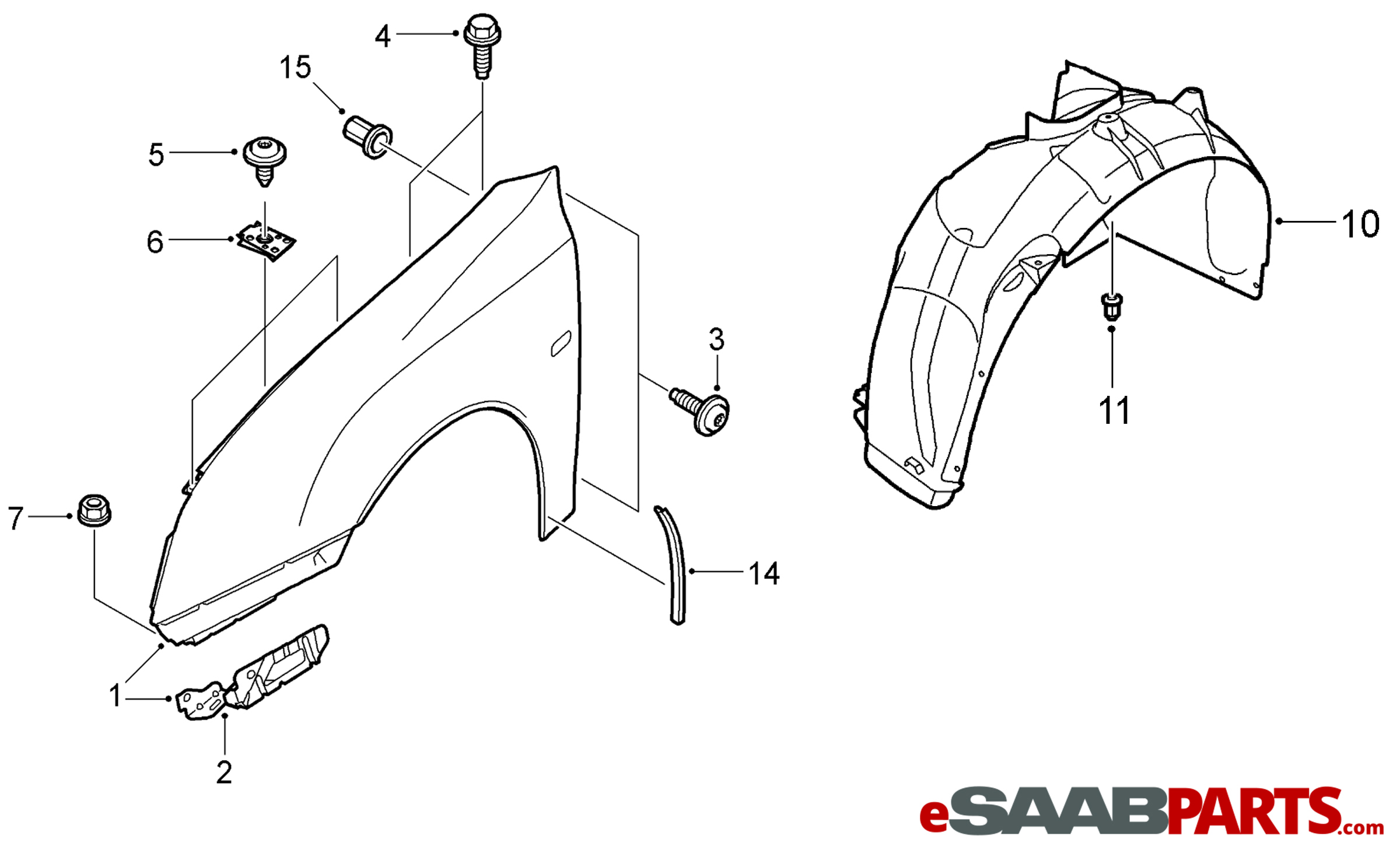[Diagram How To Install Front Fender Of 1995 Eagle Summit