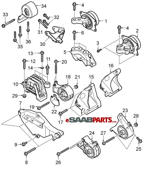 small resolution of saab 9 5 v6 engine mount diagram honda coolant temp sensor saab v6 turbo engine diagram saab v6 turbo