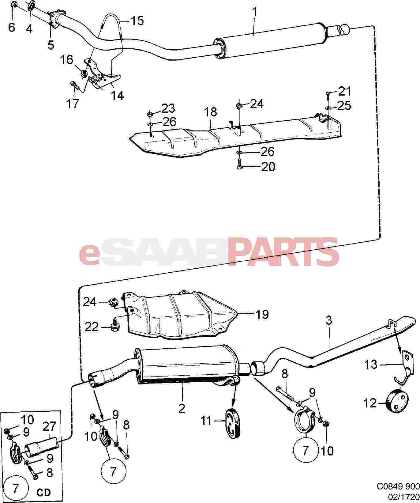 Fwd Saab 99 Engine Diagram. Saab. Auto Wiring Diagram