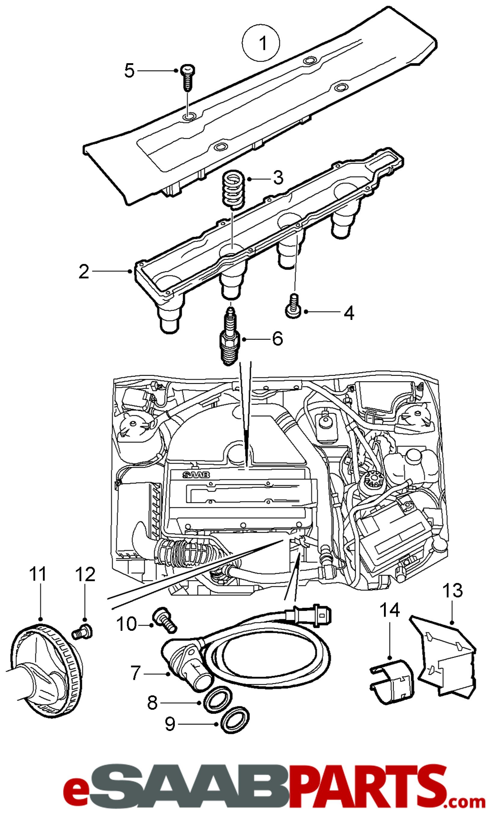 Saab Trionic 7 Wiring Diagram