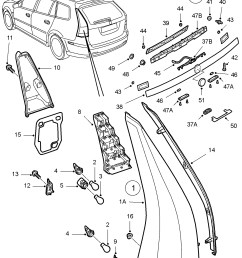 saab 9 3 tail light wiring harness wiring library diagram expertssaab 9 3 tail light wiring [ 2025 x 2413 Pixel ]