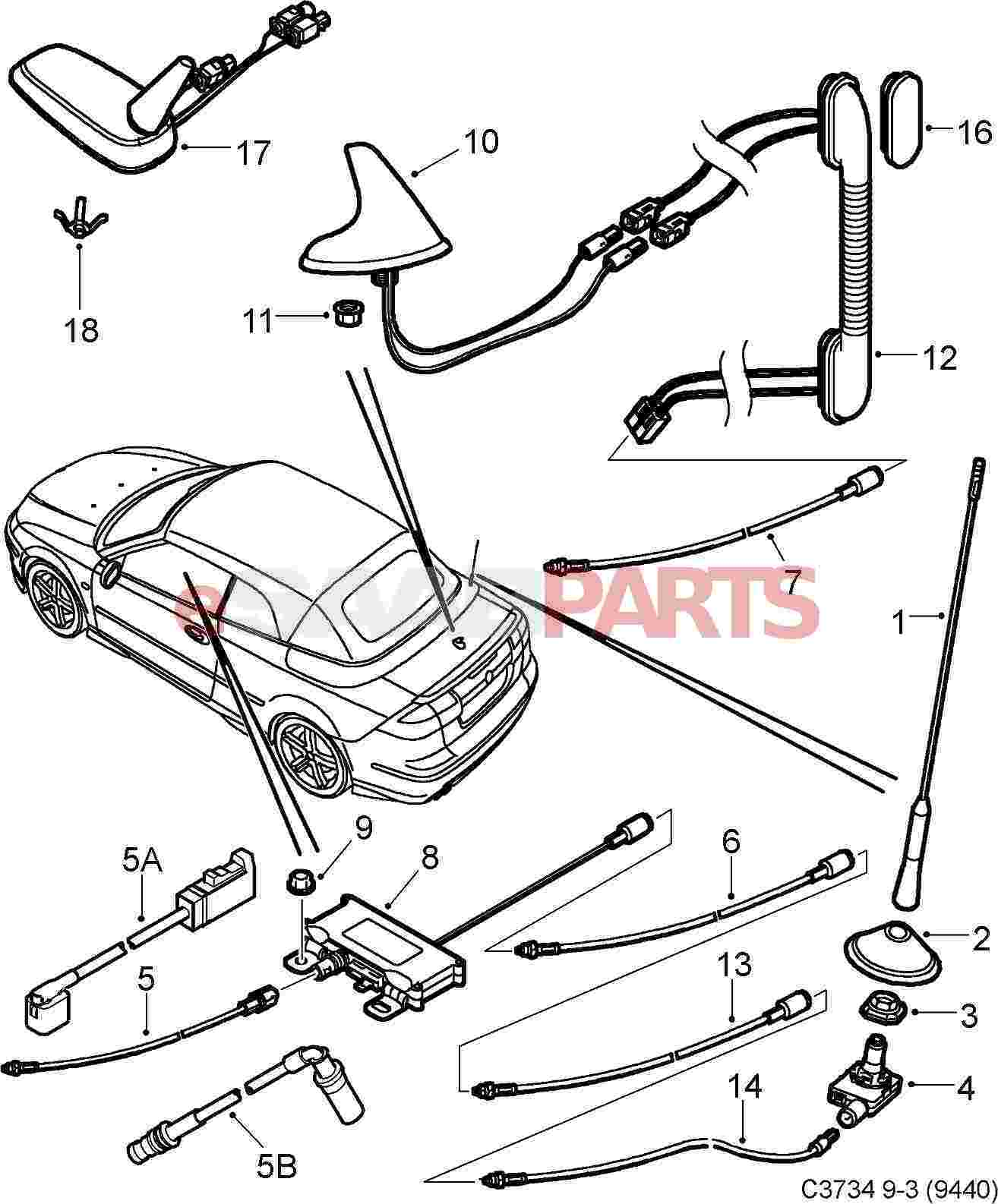 ... 99 Saab 9 3 Parts Diagram • Wiring Diagram For Free ...