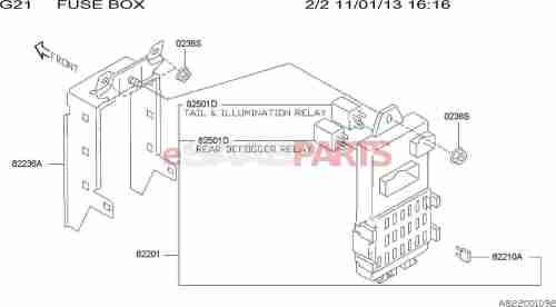 small resolution of esaabparts com saab 9 2x electrical parts electrical relays fuse box joint