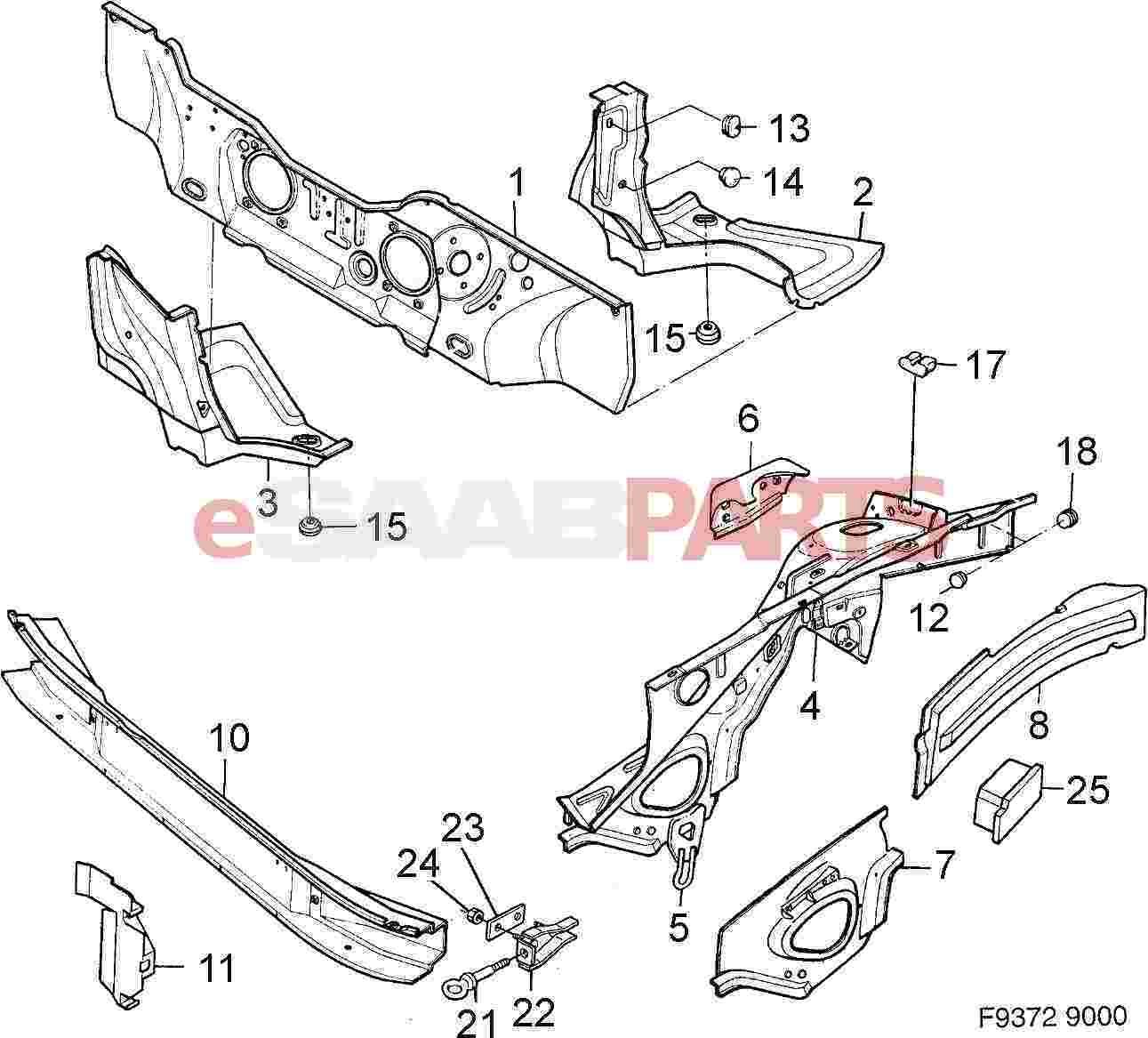 Saab 9 7x Fuse Box. Saab. Auto Fuse Box Diagram