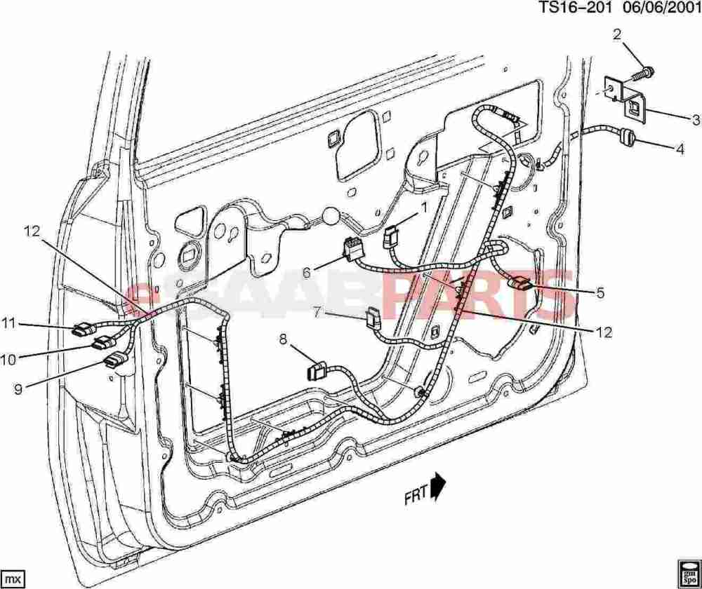 medium resolution of esaabparts com saab 9 7x electrical parts wiring harness wiring harness front side door