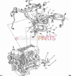 esaabparts com saab 9 7x electrical parts wiring harness wiring harness engine 4 2s  [ 1490 x 1656 Pixel ]