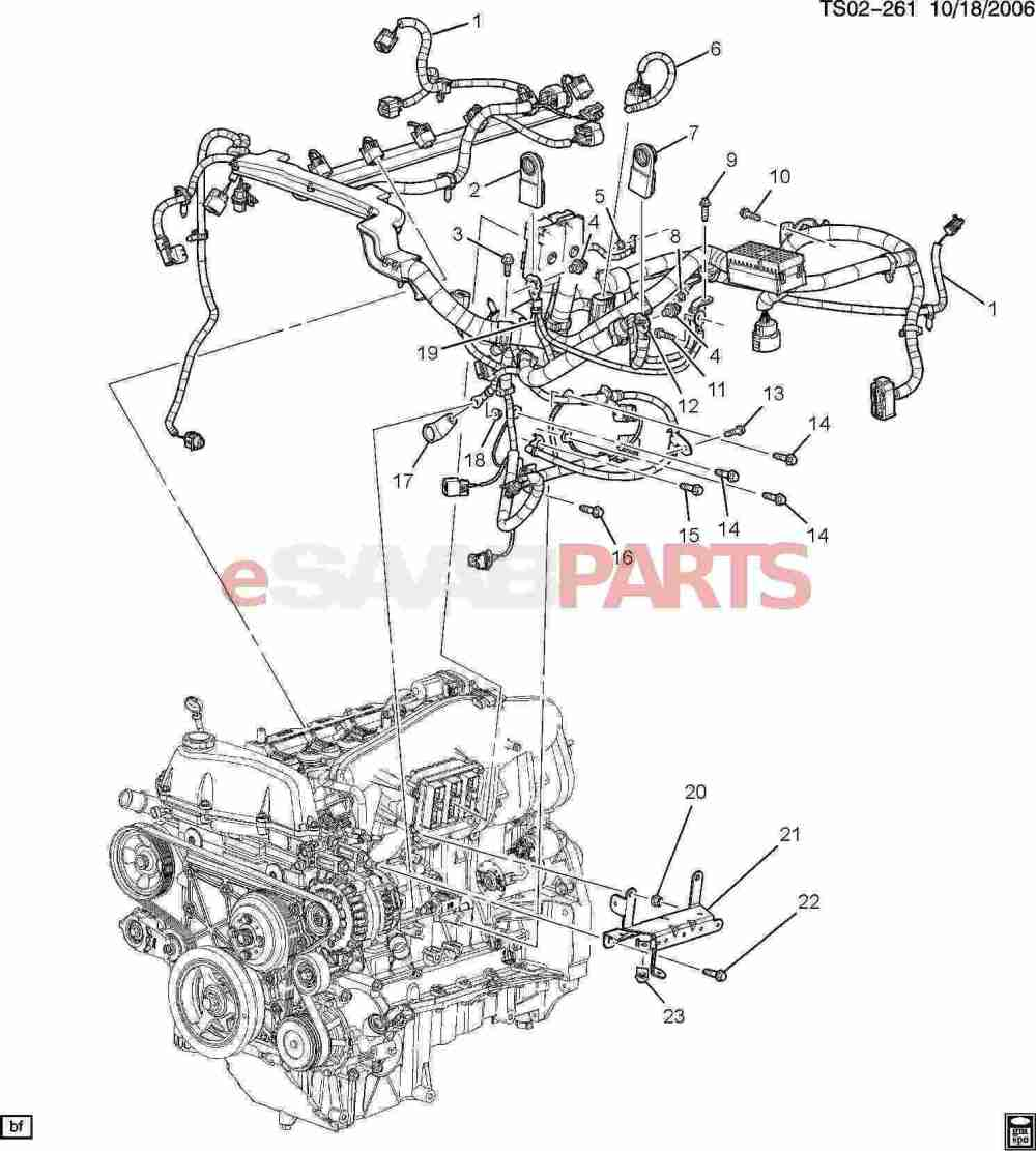 medium resolution of esaabparts com saab 9 7x electrical parts wiring harness wiring harness engine 4 2s