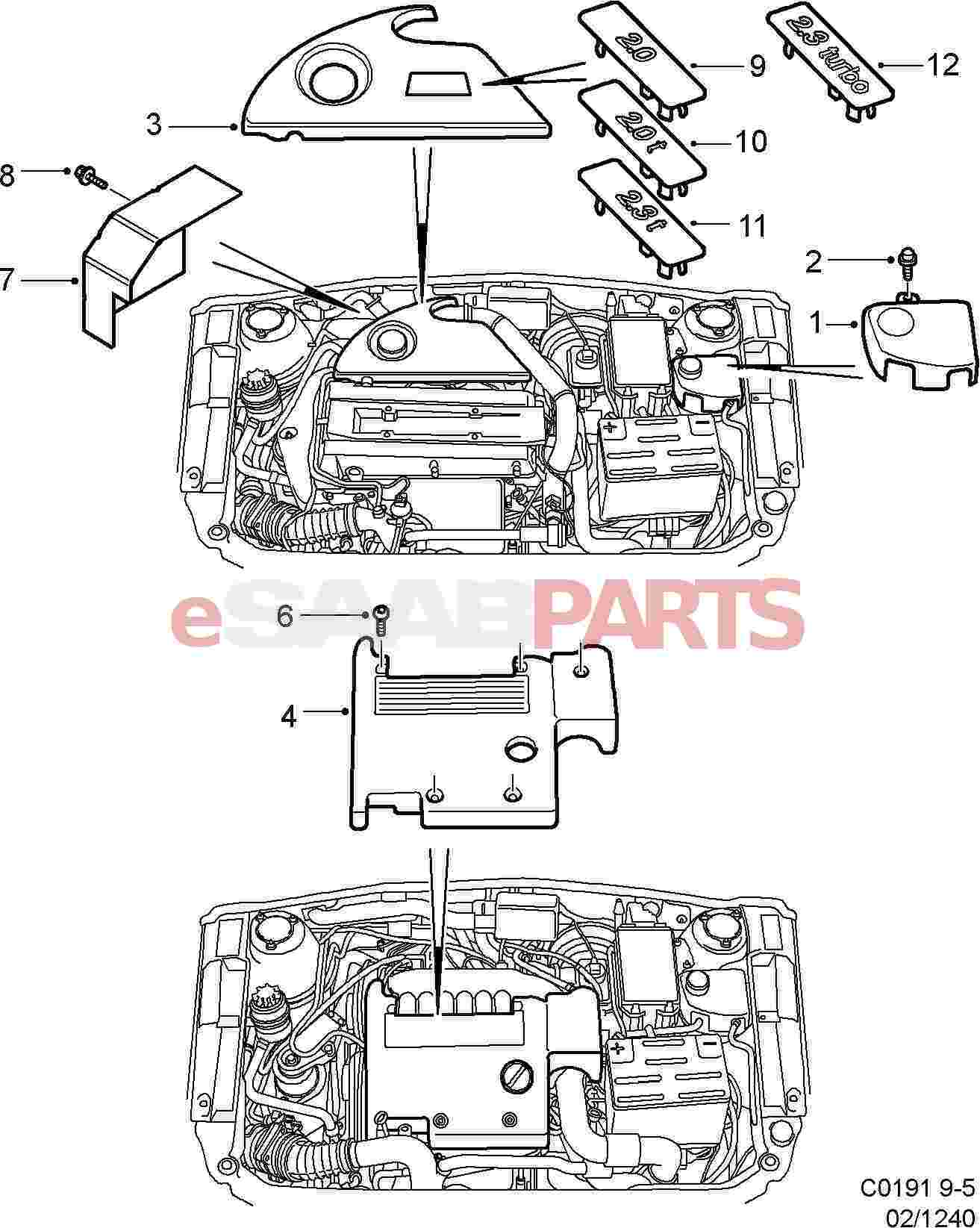 Saab Engine Mounts Diagram 96 Honda Accord Wiring Diagram