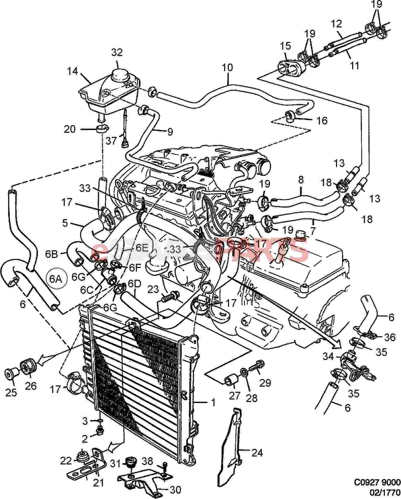 2004 Saab 2 0 Engine Diagram • Wiring Diagram For Free