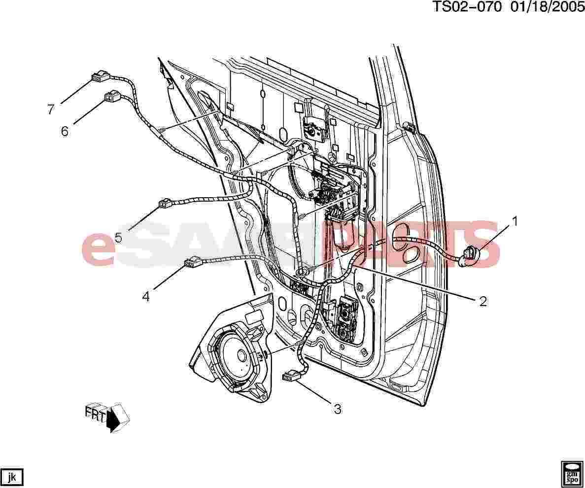 Saab Connector Mot Wdo Reg