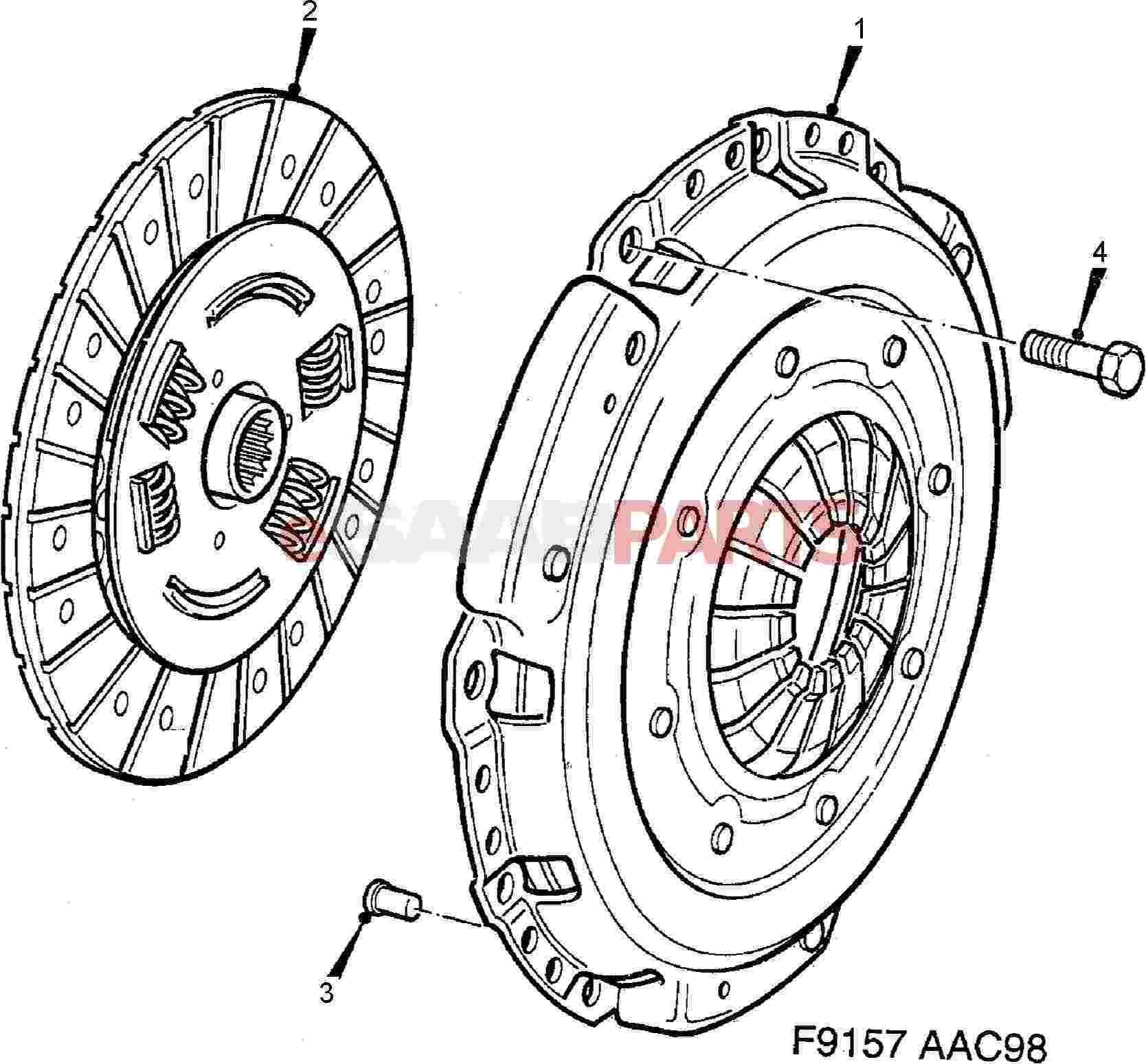 Saab Pressure Plate