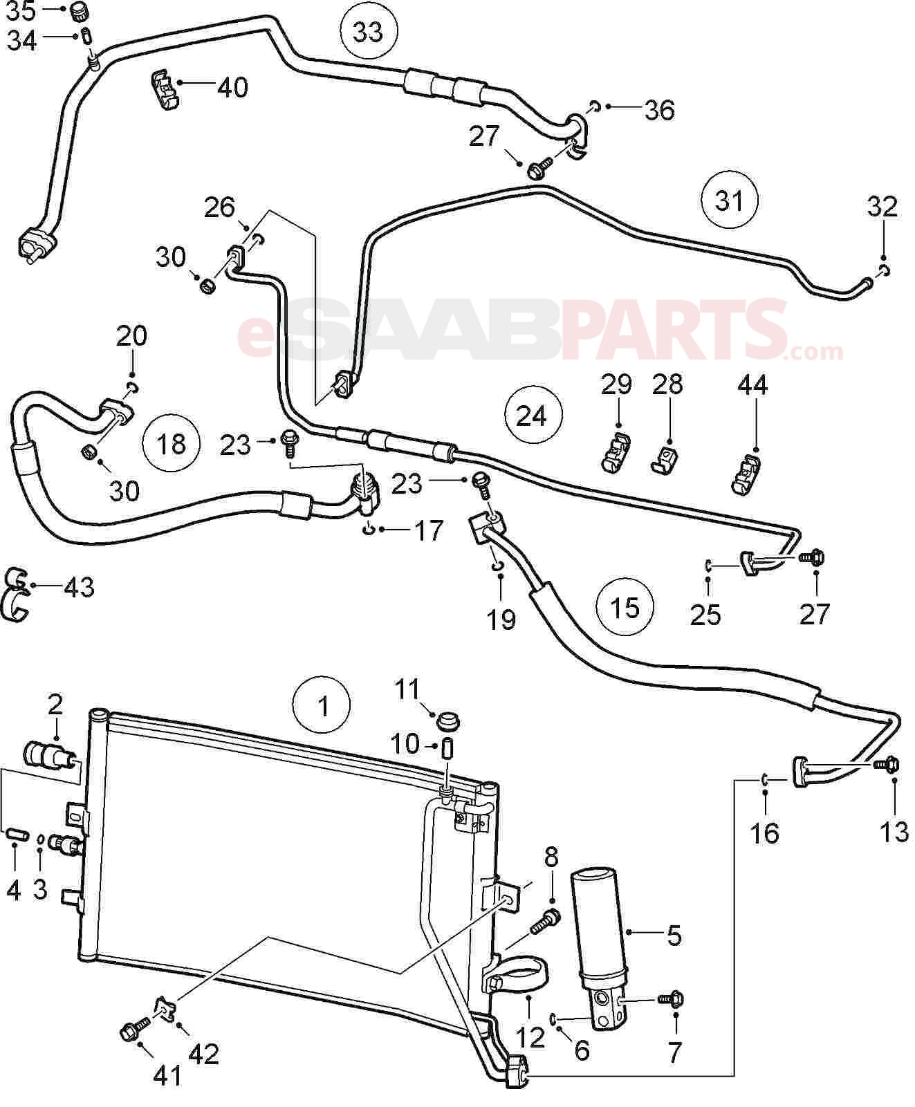 Saab 9 5 Engine Parts Diagram • Wiring Diagram For Free