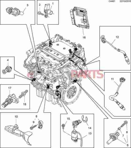 small resolution of esaabparts com saab 9 5 650 u003e electrical parts u003e engine sensorsesaabparts