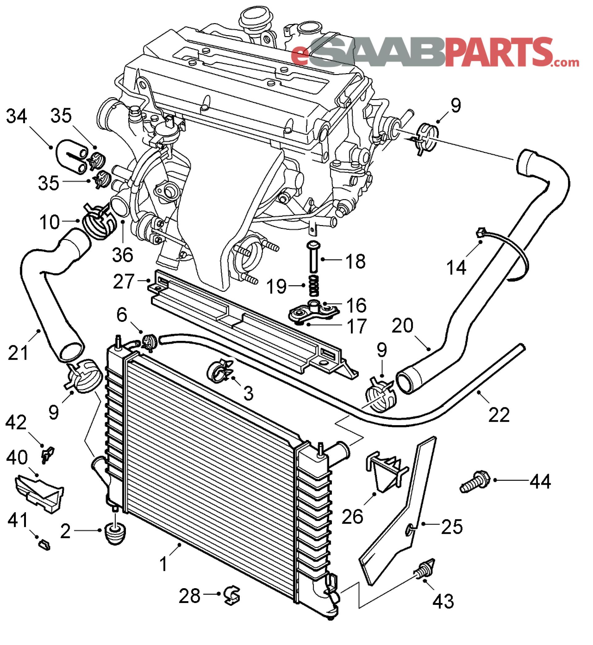 hight resolution of saab engine diagram