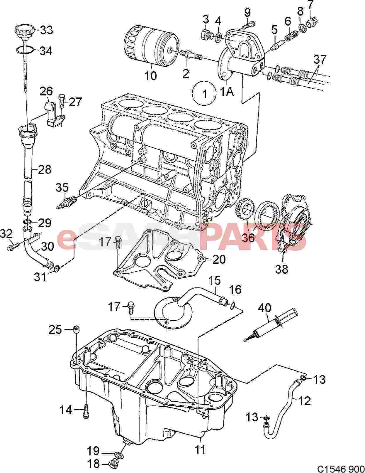 Saab Engine Oil Pressure Sensor