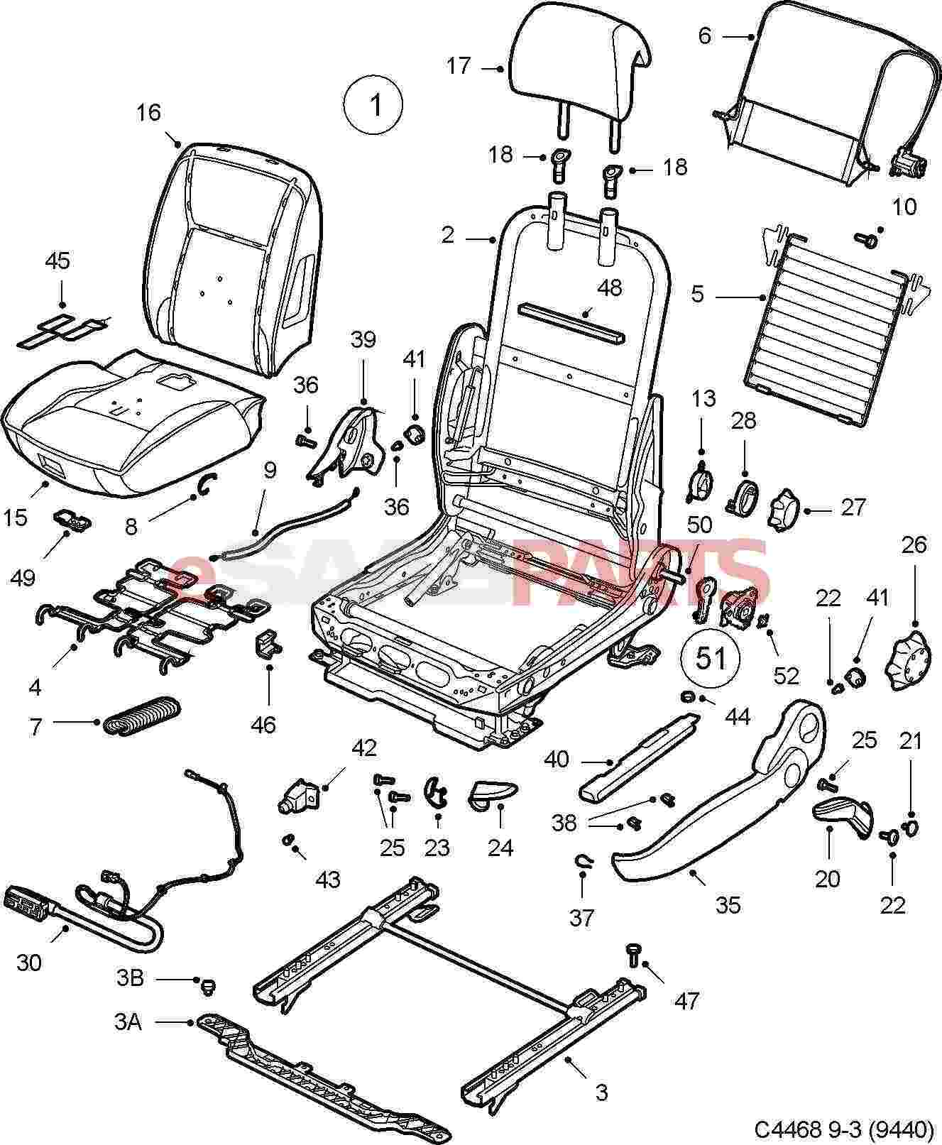 hight resolution of saab 9 3 seat diagram automotive wiring diagrams 2005 durango electric heated seats saab 9 3