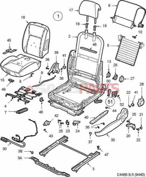 small resolution of saab 9 3 seat diagram automotive wiring diagrams 2005 durango electric heated seats saab 9 3