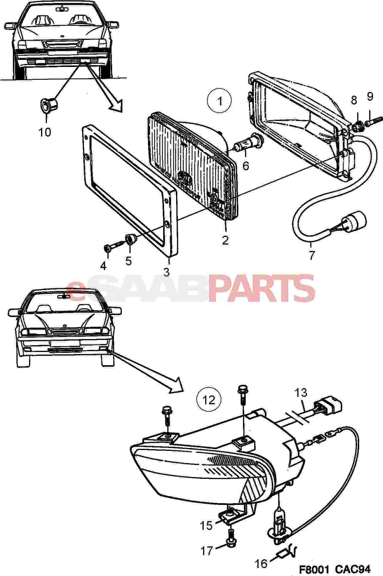 Saab 9000 Parts Diagram. Saab. Auto Parts Catalog And Diagram