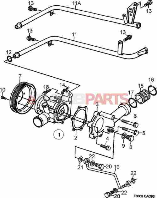 small resolution of 92150435 saab gasket genuine saab parts from esaabparts com cadillac cooling system diagram saab cooling system diagram