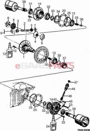[8704389] SAAB Roller Bearing  Genuine Saab Parts from