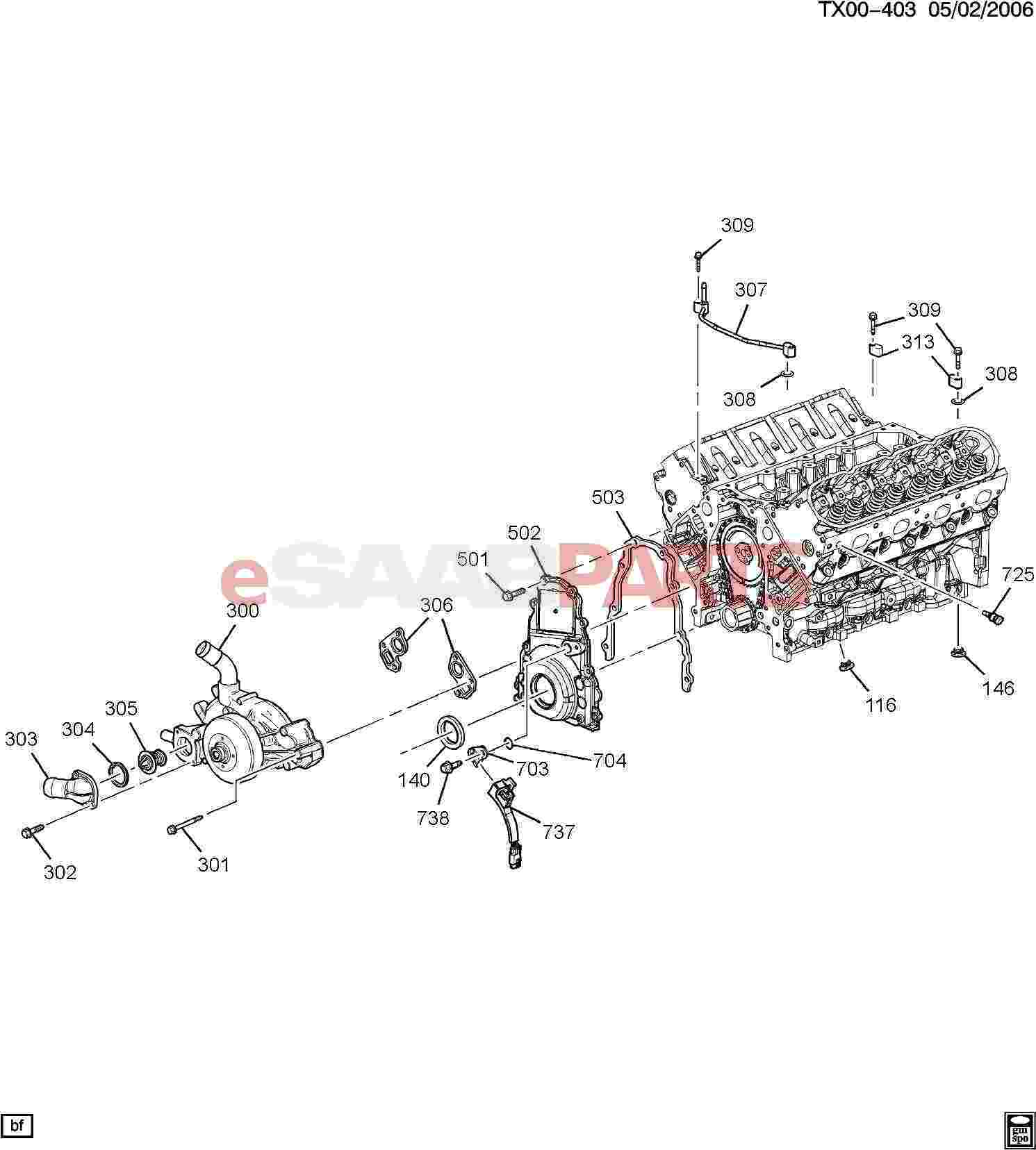 [12561663] SAAB Plug, Engine Block, Black Coolant Drain
